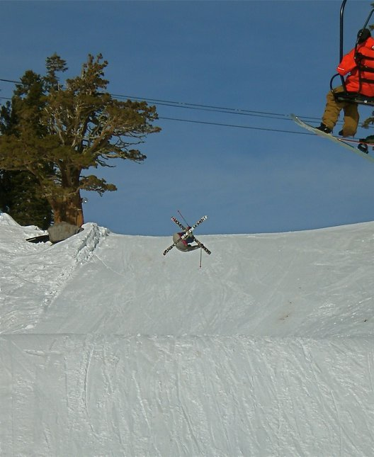 Squaw Jump in January