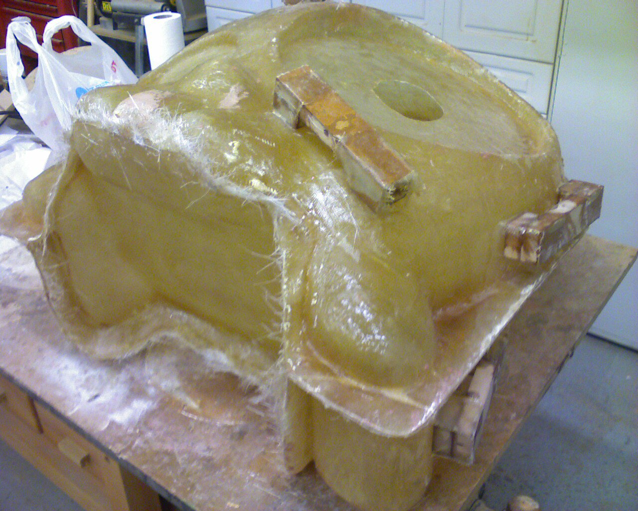 Boombox skull mold 2
