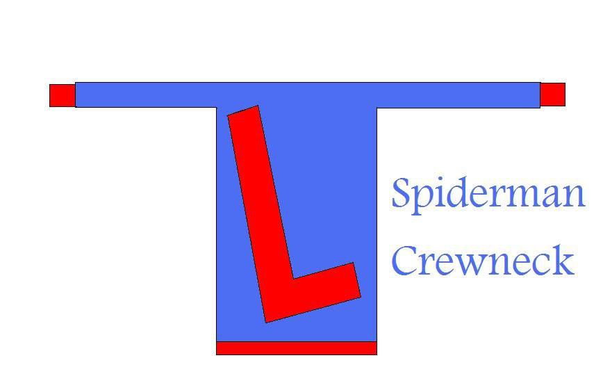 Spiderman Crewneck