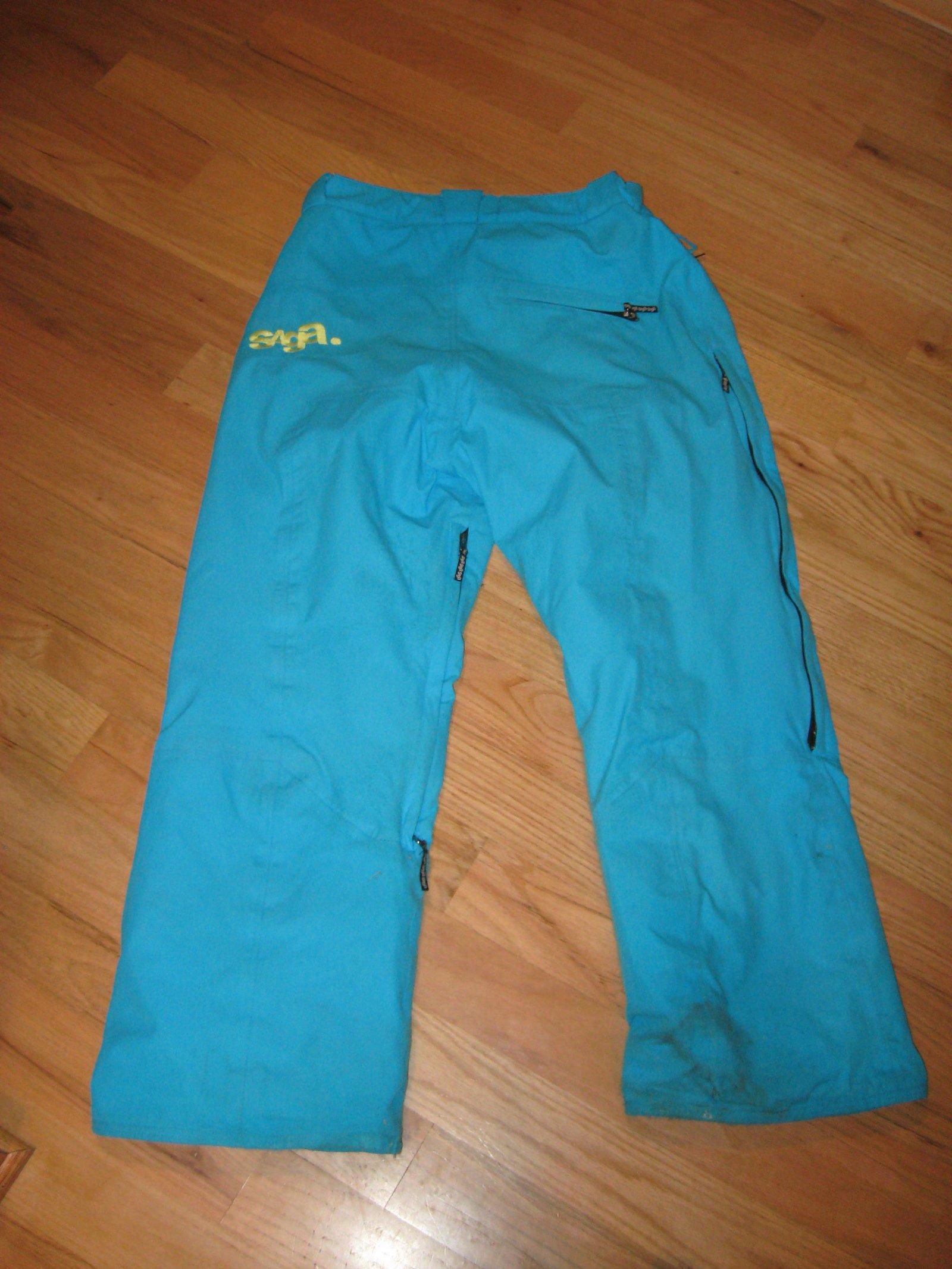 Back of my pants