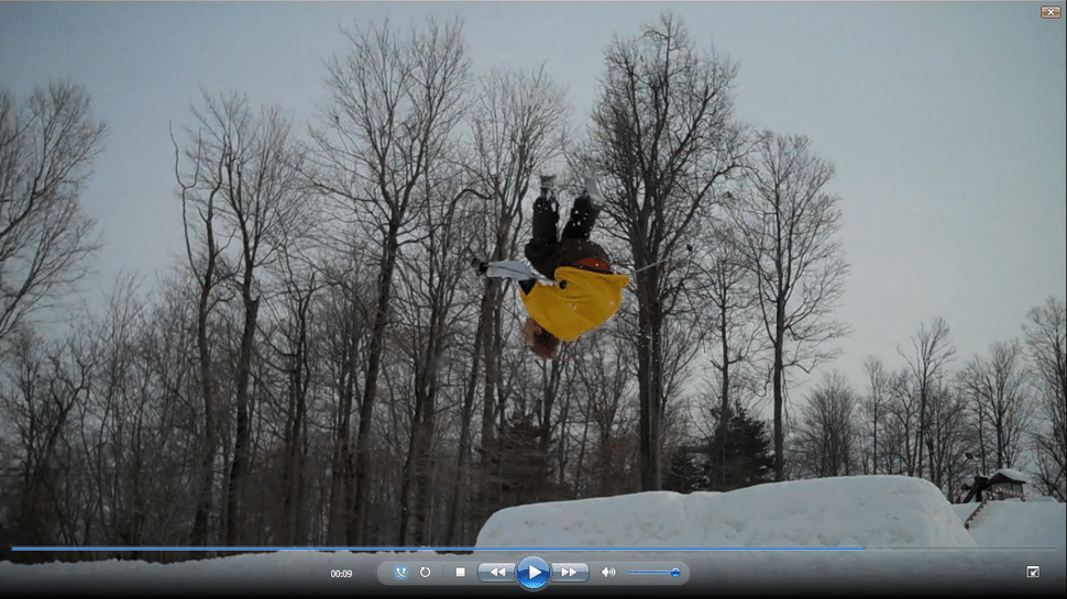 Turndown Backflip