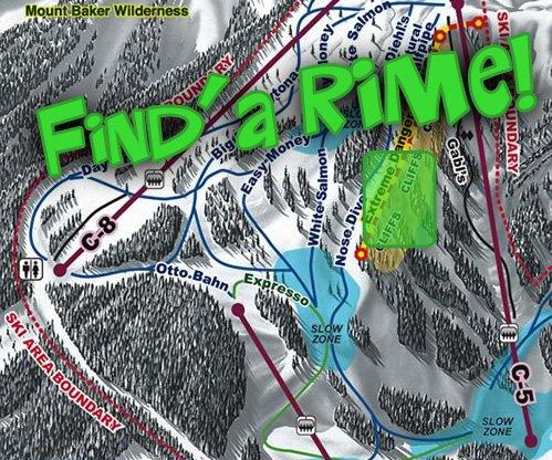 Find a Rime at Mt Baker!