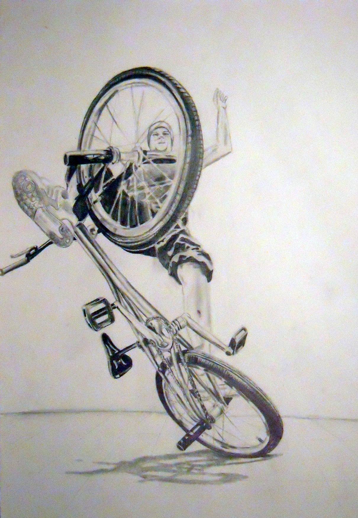 Risd Bike Drawing Pictures Newschoolerscom