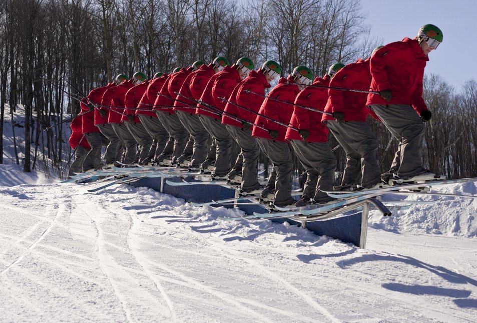 Roller-coaster rail