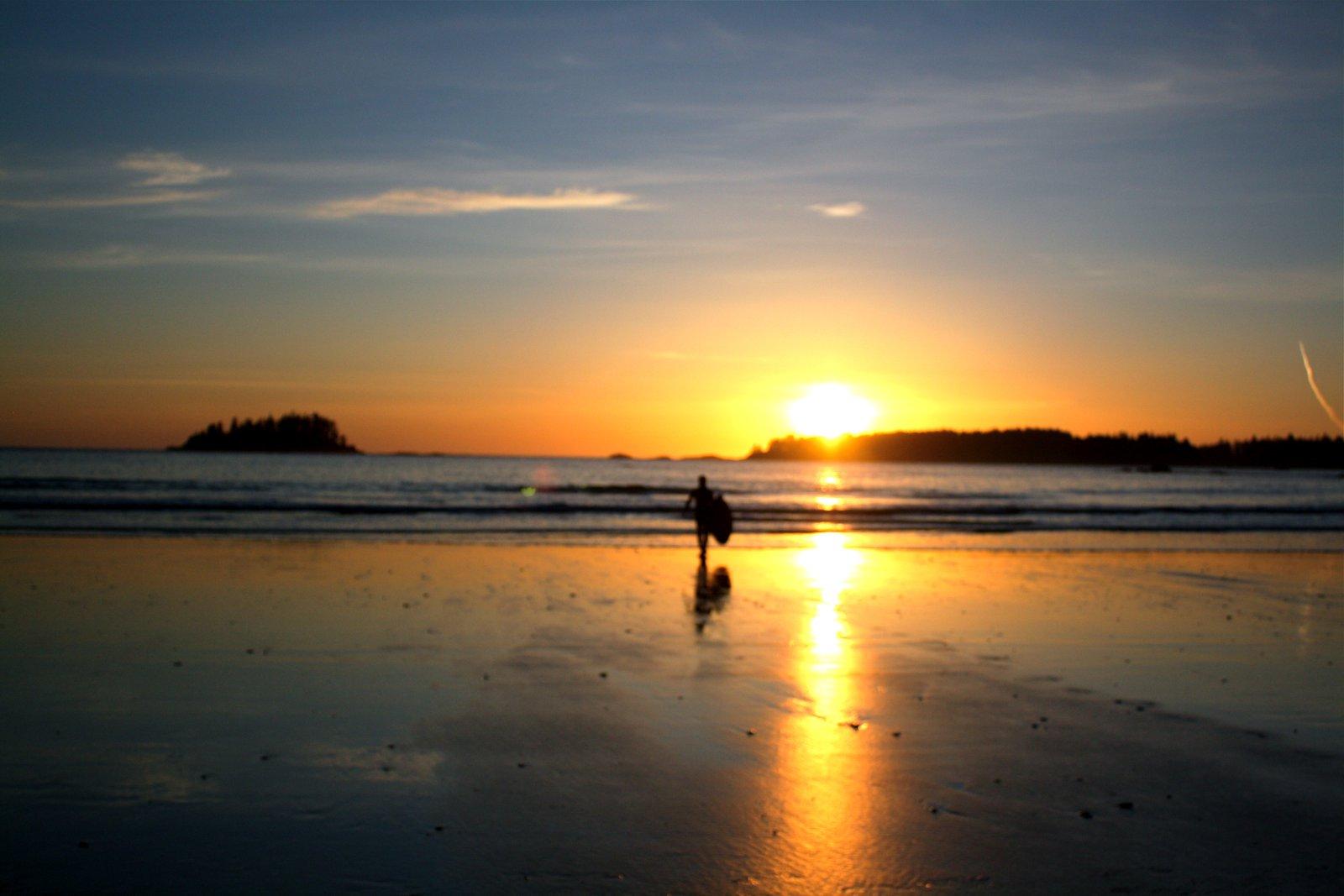 Sunset Skimboard Session