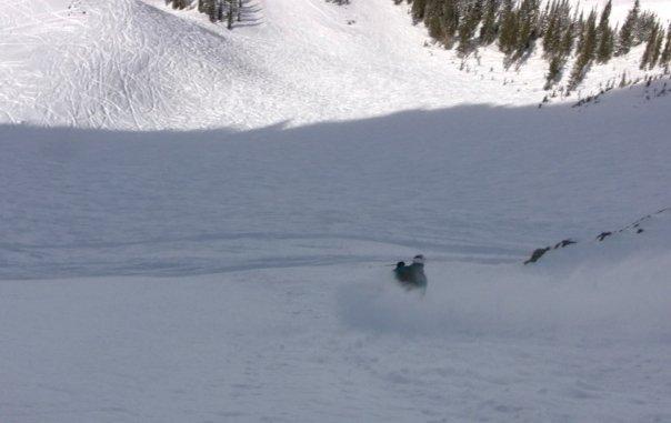 Knee Deep at Snowbird