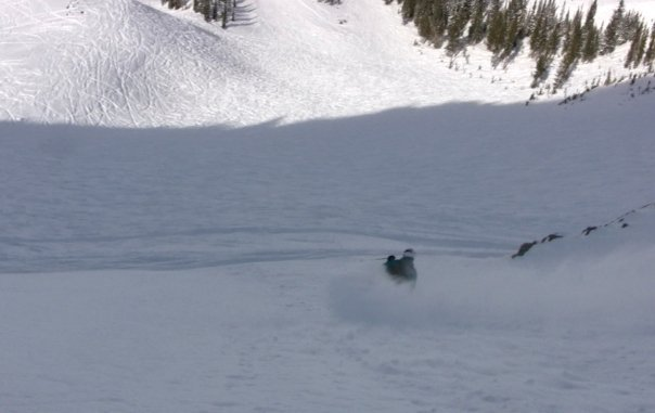 Knee Deep at Snowbird