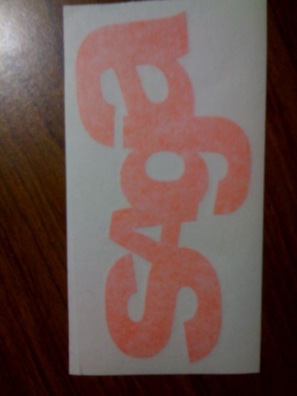 Saga sticker