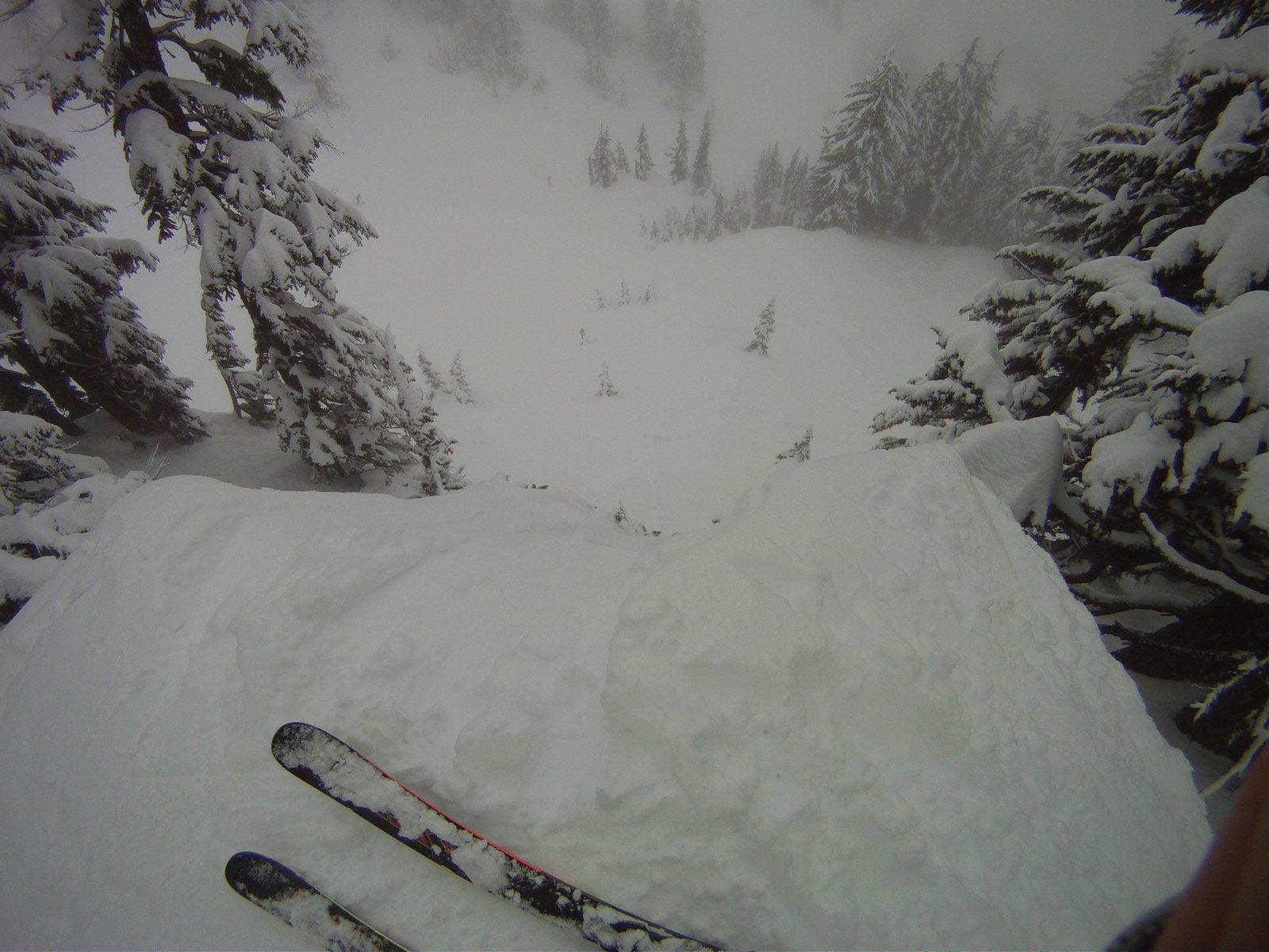Big Cliff drop