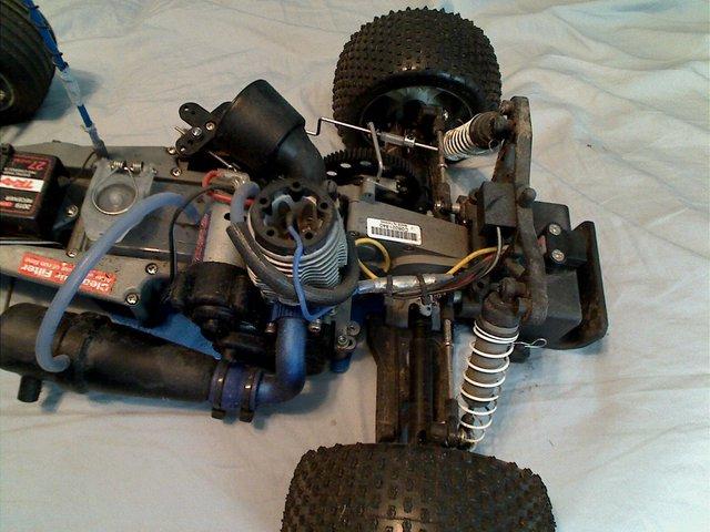 Rustler engine/rear end