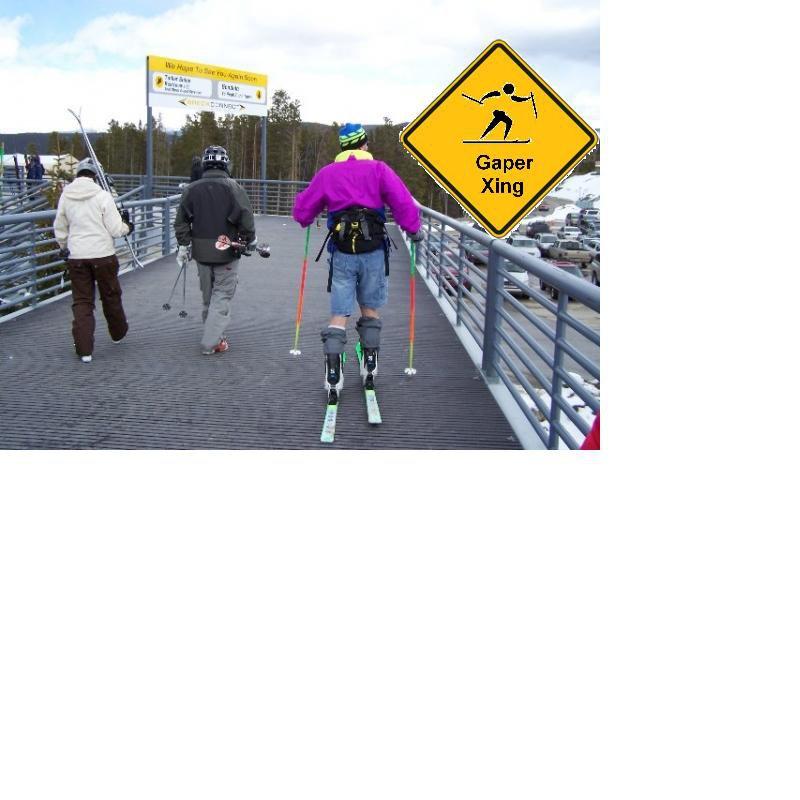 Warning Gaper Crossing