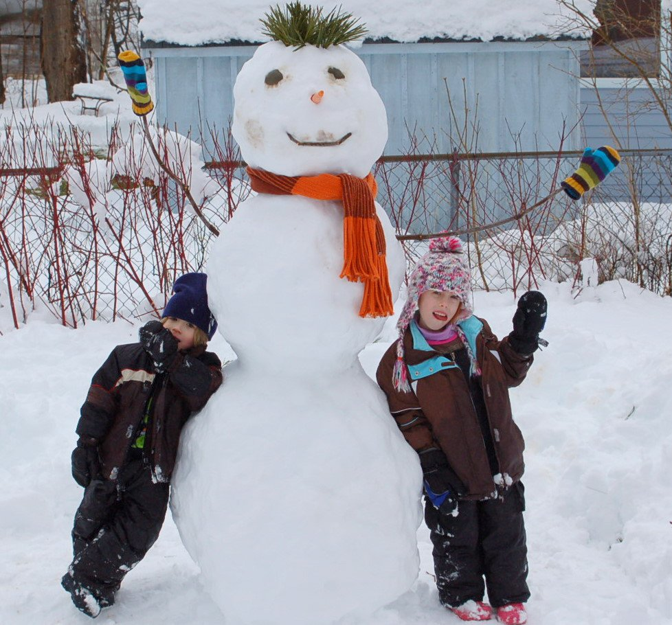 Another winter, more snowmen!