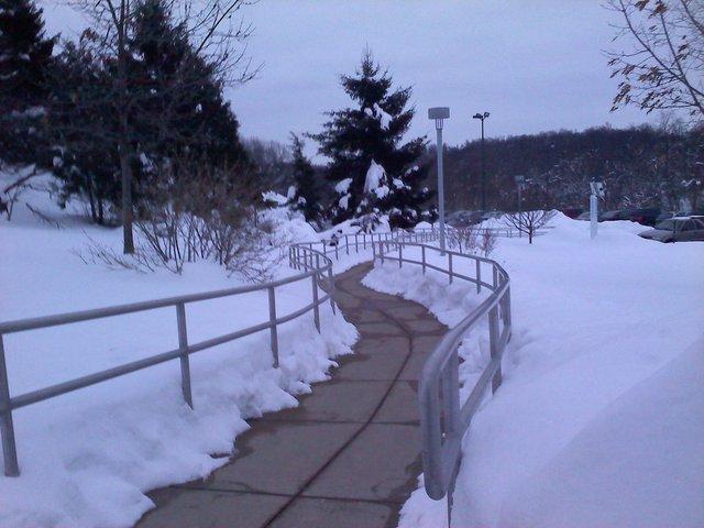 Urb rail at my community college