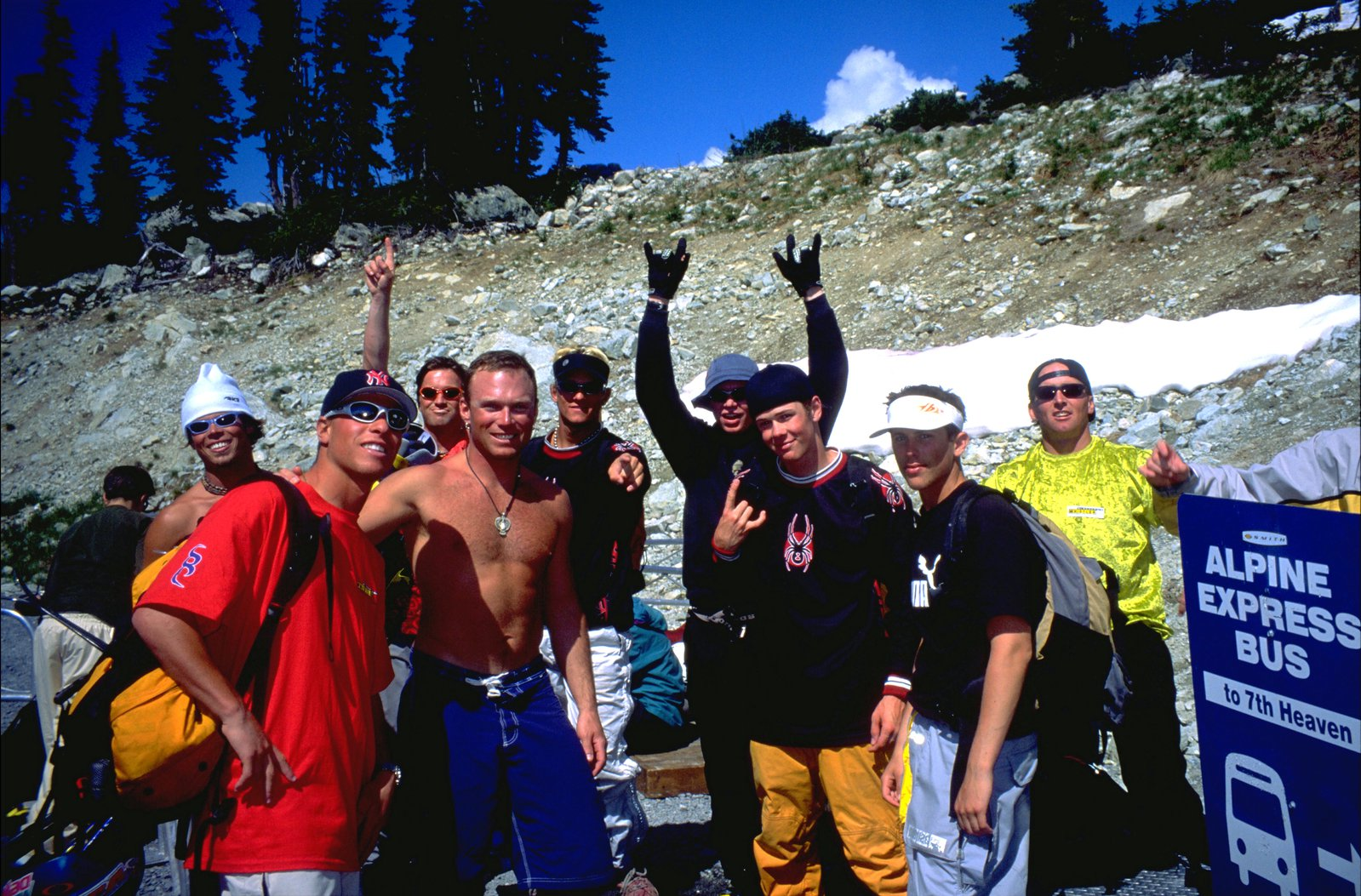 CR Johnson at The Camp of Champions 1999