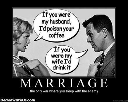 Demotivational Marriage