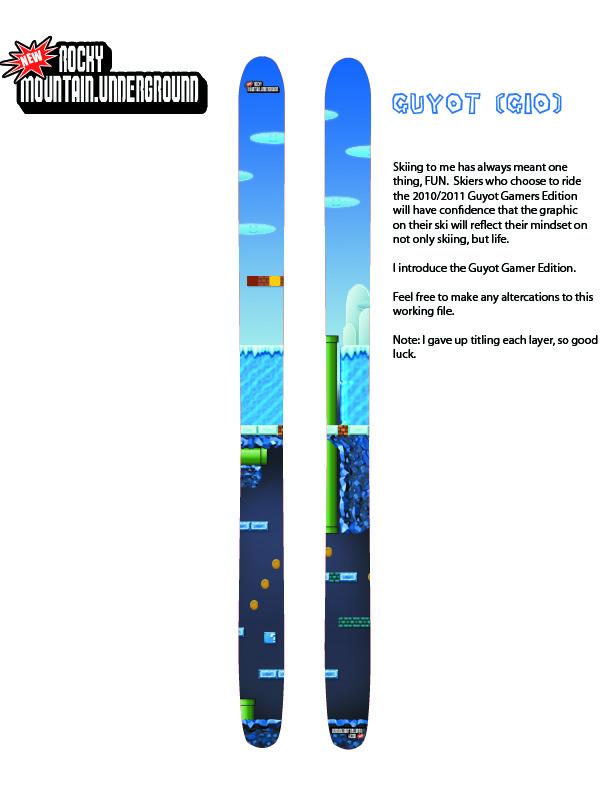 Ski Design - Contest Entry