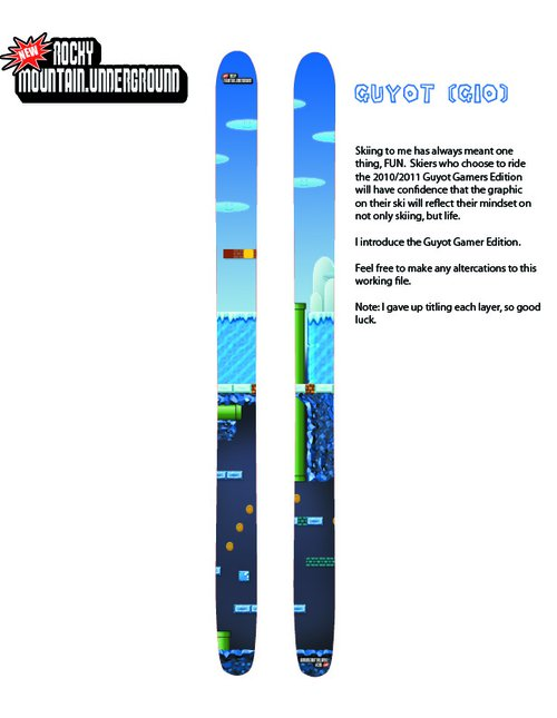 Ski Design - Contest Entry