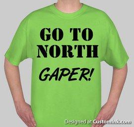 Go To North GAPER!