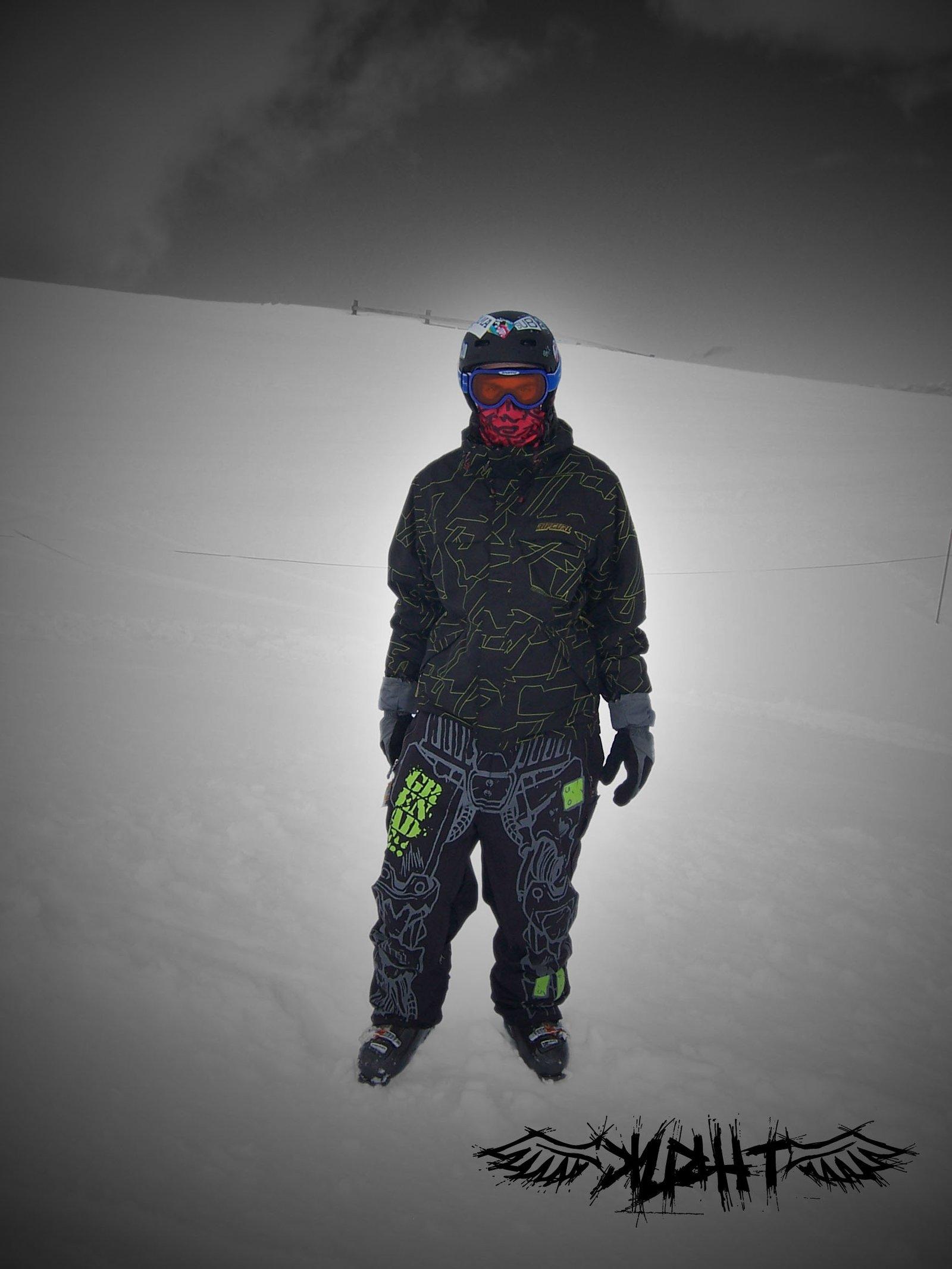 My old ski gear