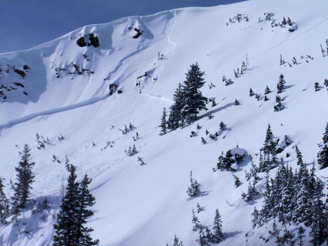 Slide off Pioneer ridge