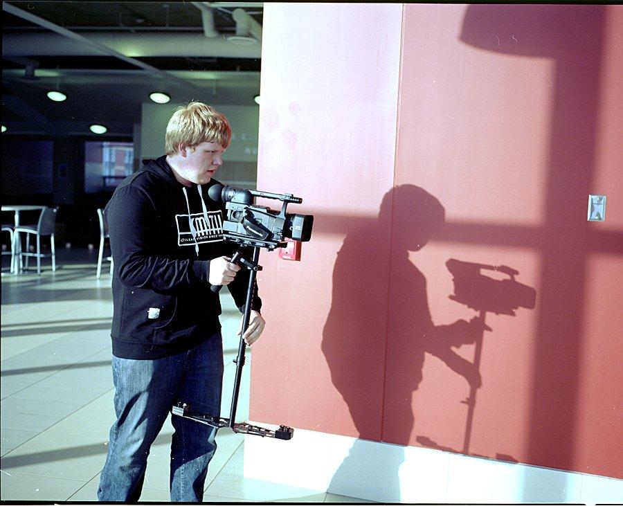 Glidecam Shot on 6x7 format film.
