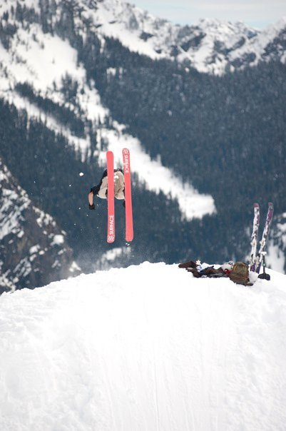 BackFlips all day Alpental BC