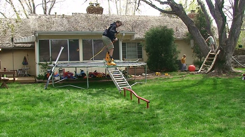 My first backyard jib.