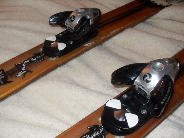 Bindings and chipped edges