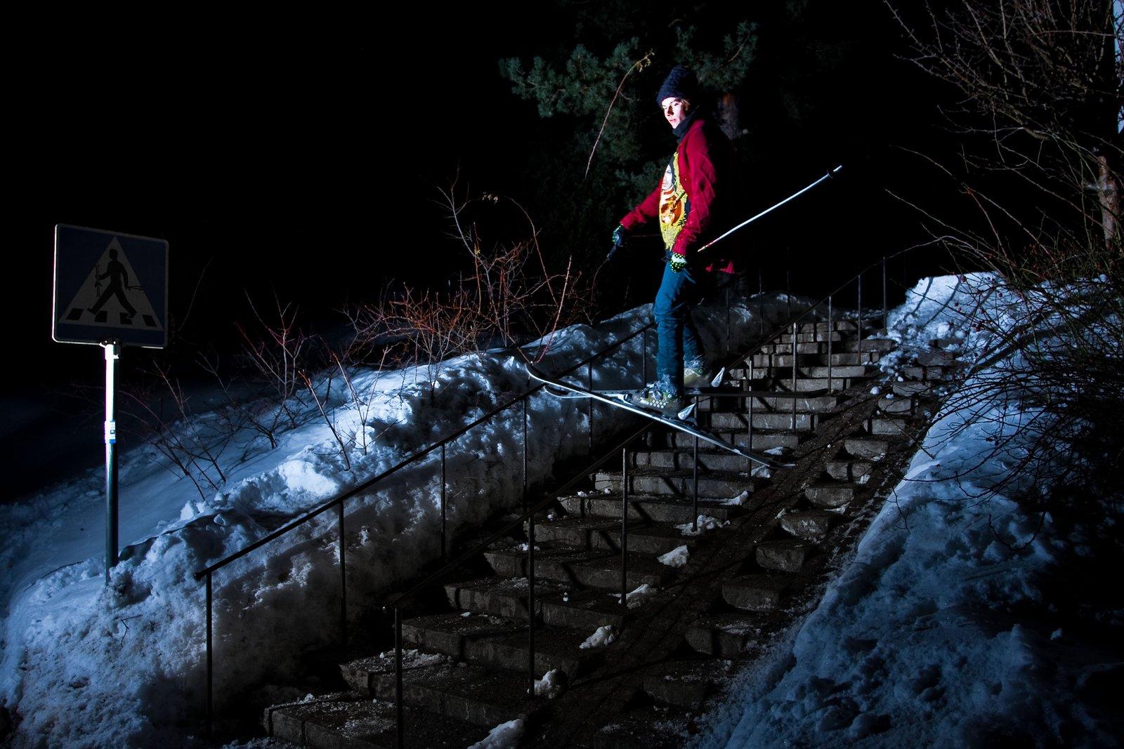 Luke Skiwalker handrail