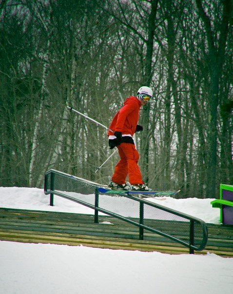 Down rail at okemo