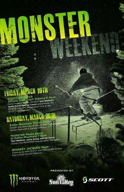 MONSTER Weekend Rolls into Sun Valley, ID