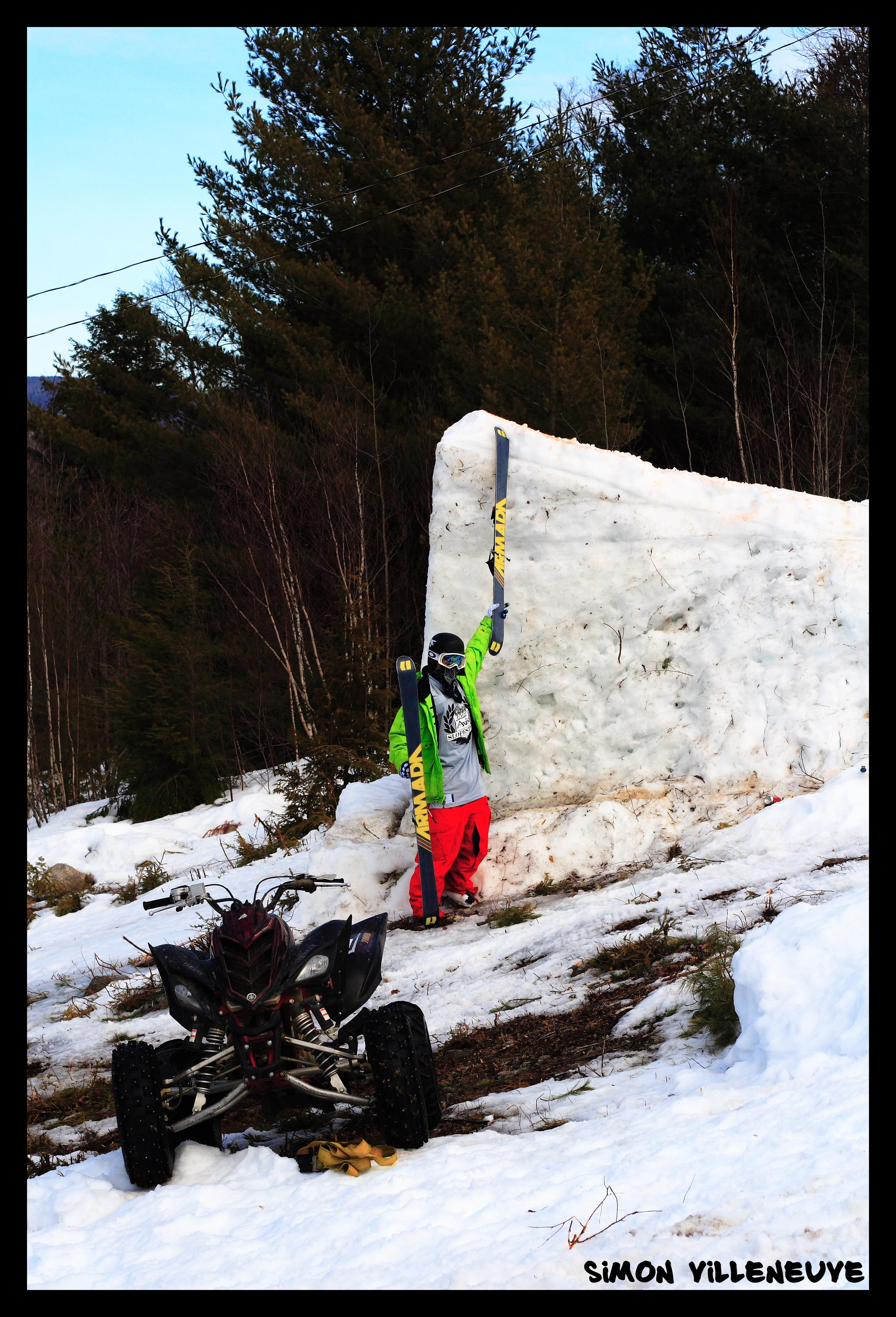 Quebec's Biggest Backcountry jump