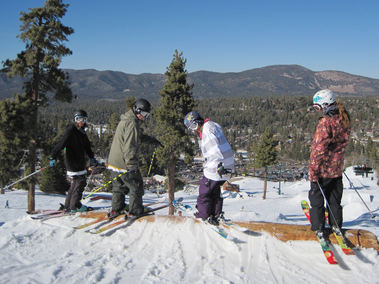 Fun day in big bear