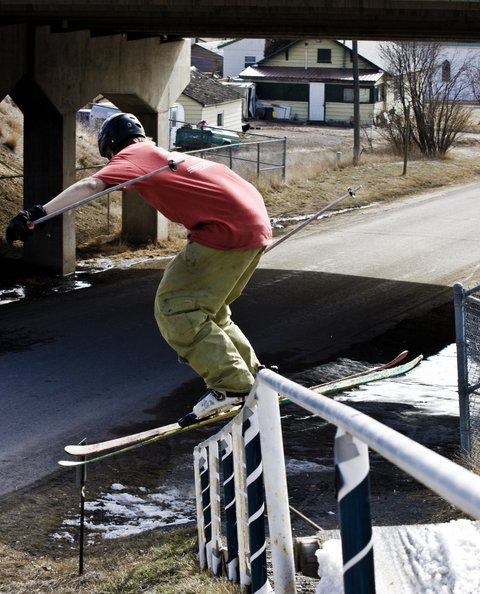 Alex Adams. Down Rail