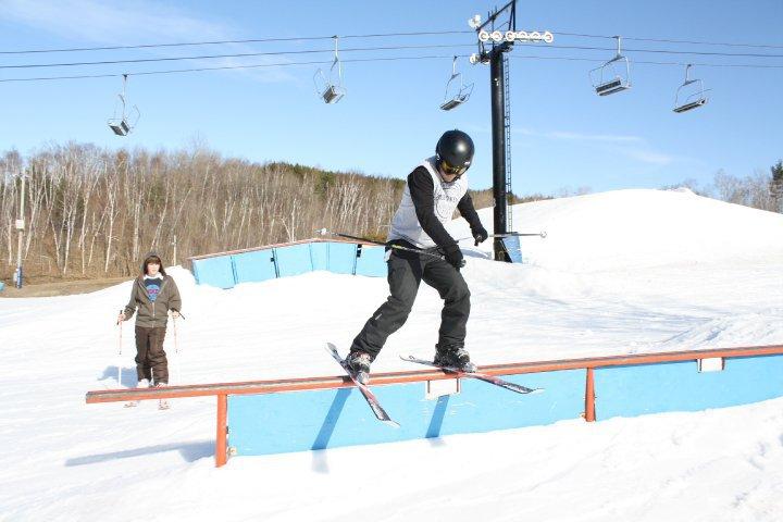 End of season skiing 2010 - 2 of 2
