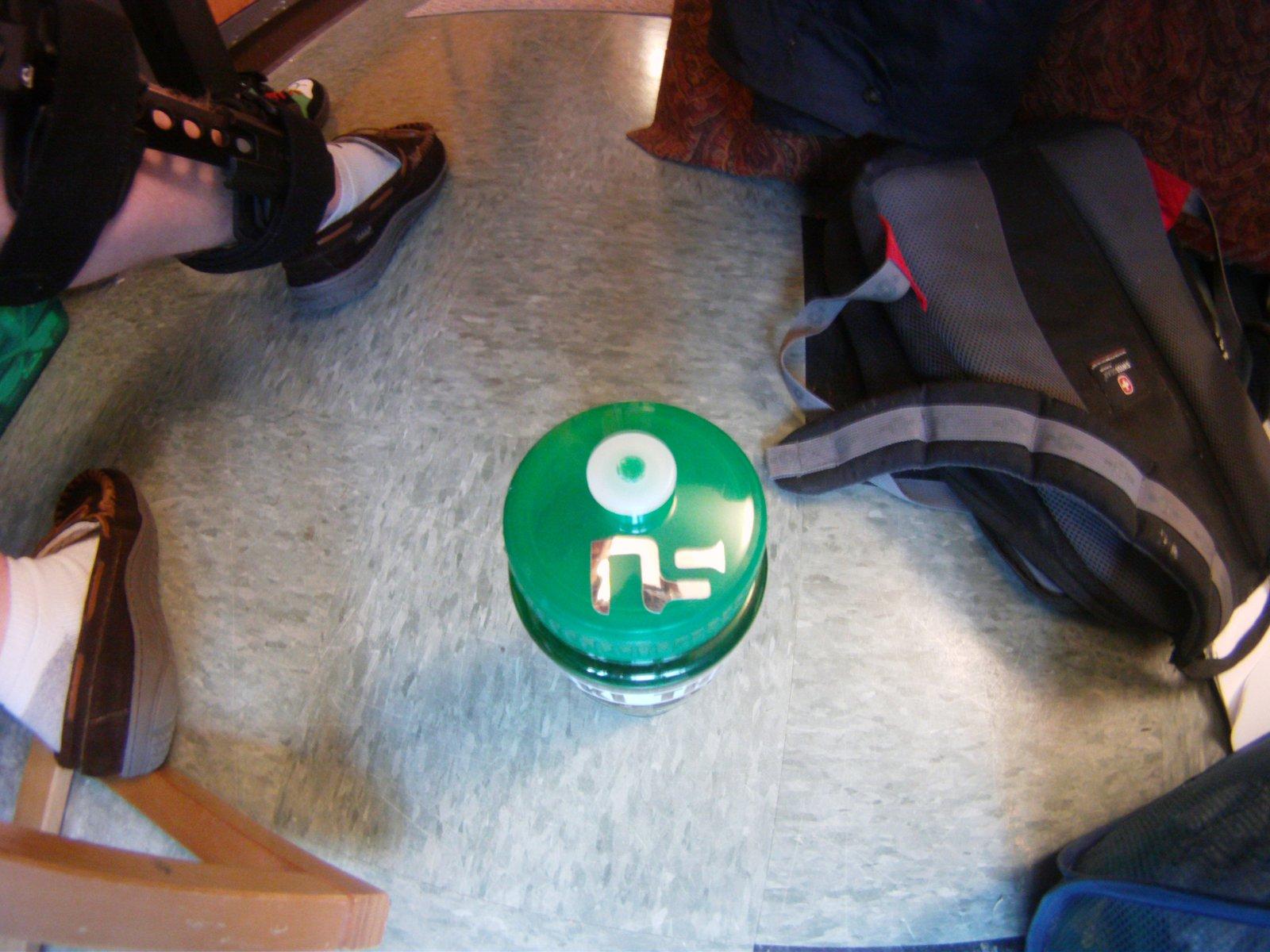 Water bottle ns sticker