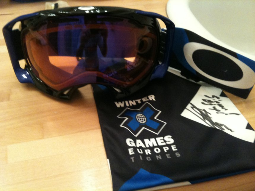 Oakley splice xgames europe edition