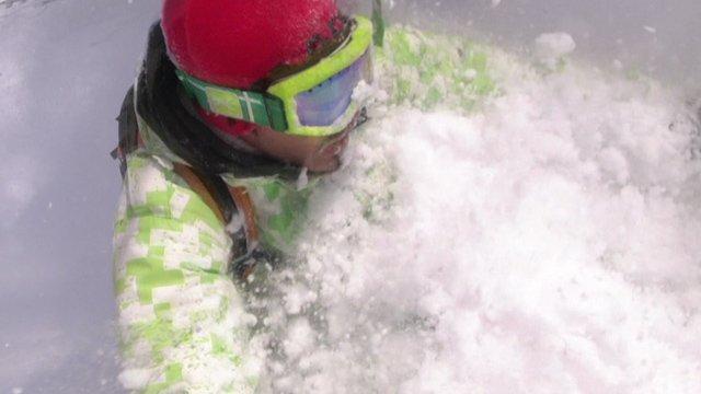 Skiing in Niseko Powder Japan