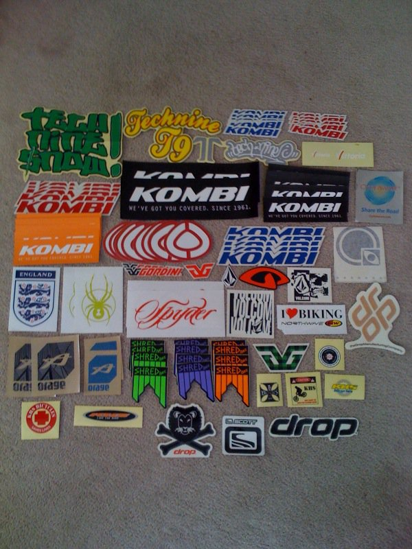 My sticker Collection PT1