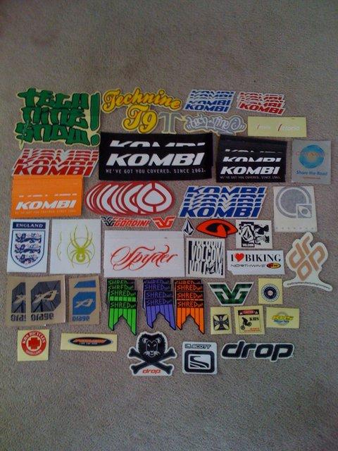 My sticker Collection PT1