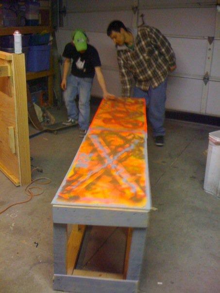 Buiding a 8 foot flat box