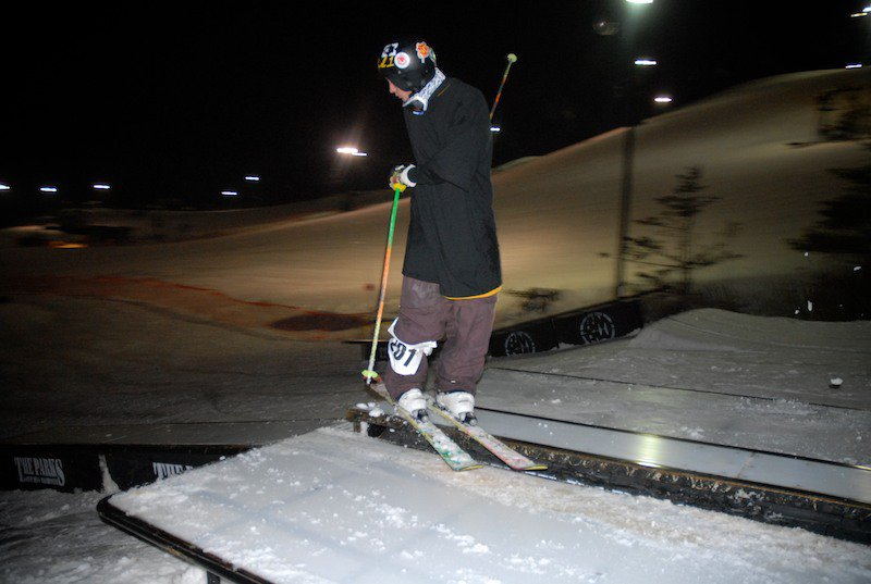 Chipotle rail jam