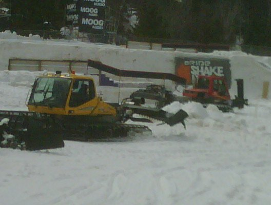 The shake down getting setup St. Sauveur
