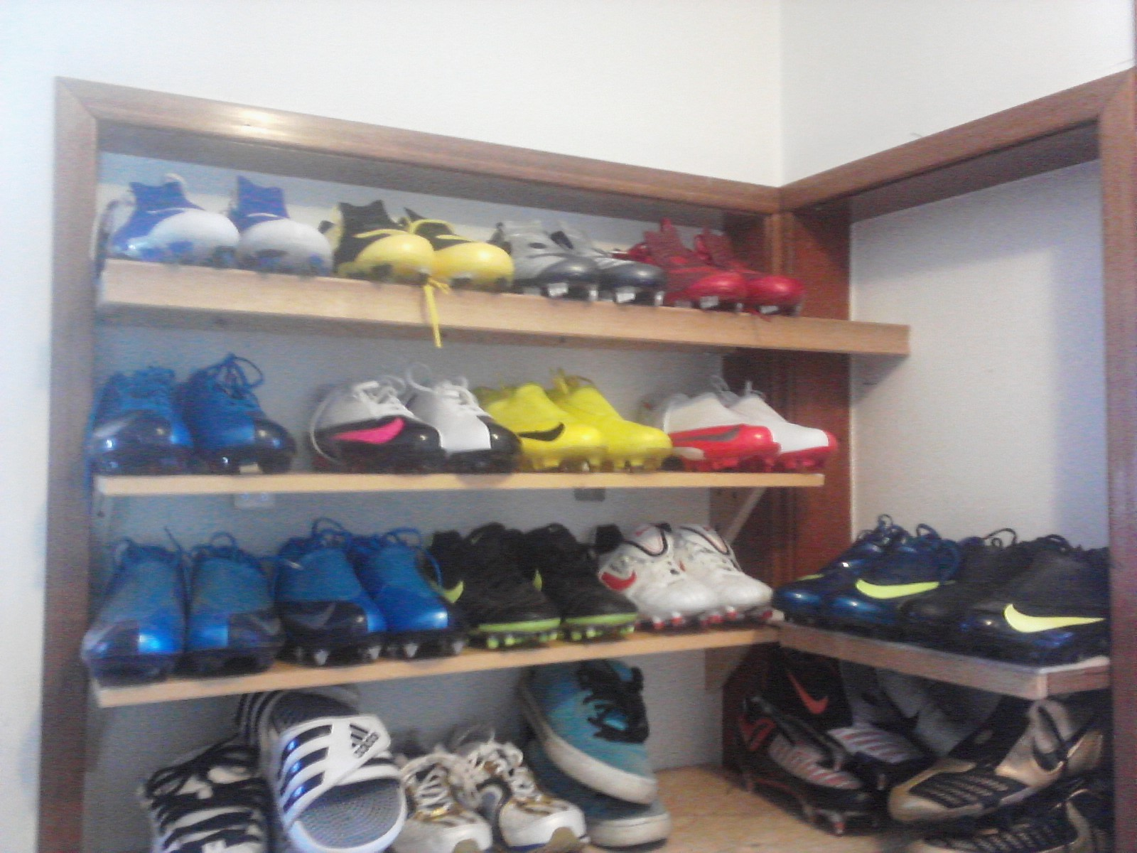 Partial cleat collection