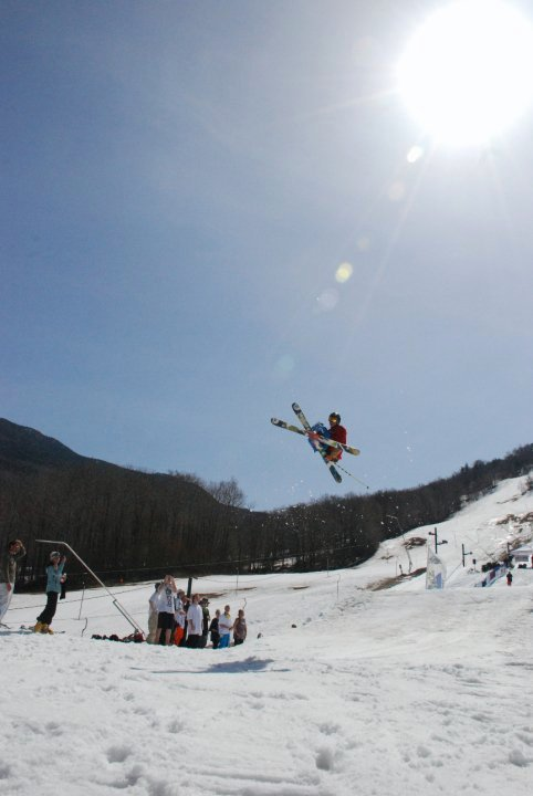 Me at big air competition on 4/3/10