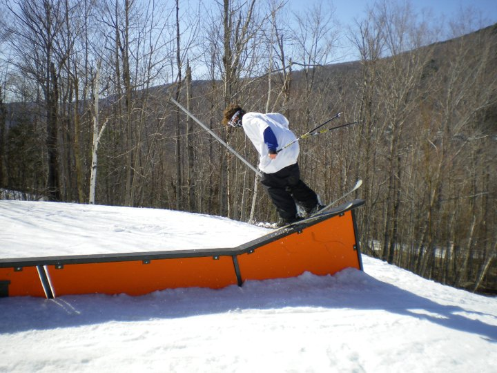 Loon up flat rail