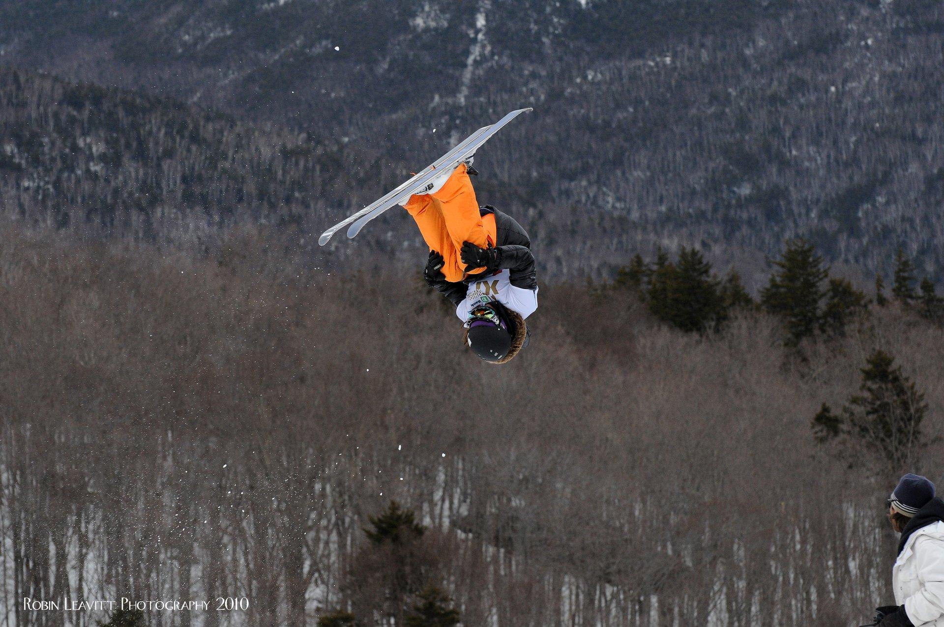 Front flip at Junior Olympics