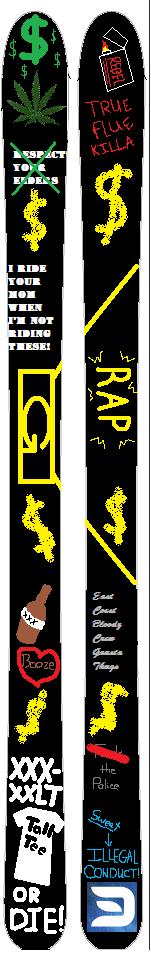 Dopest Ski Evar
