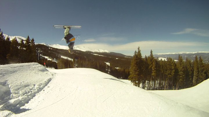 Backflip at breck