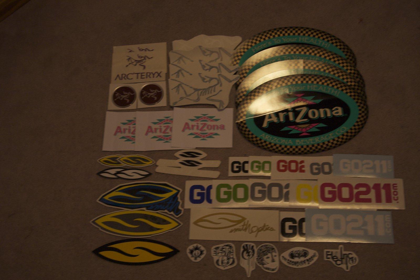 My sticker Collection PT3